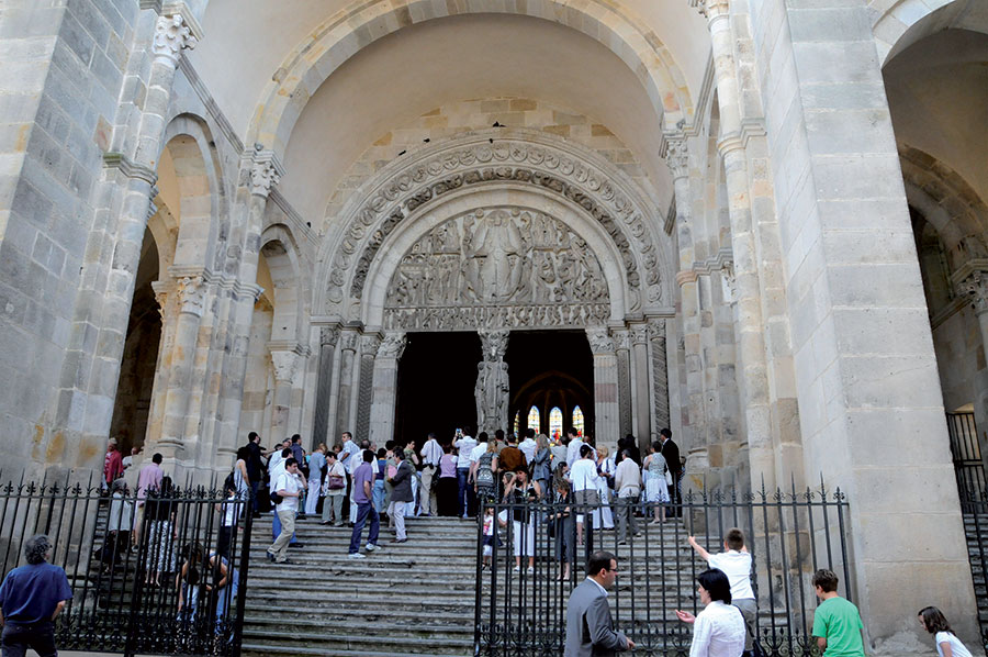 Grand Foyer De L Art Roman : Autun cath�drale saint lazare toucher le tympan
